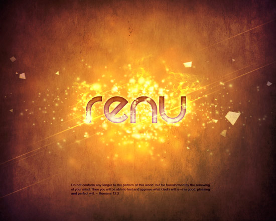 Renu small Create A Cool Typography Effect in Photoshop