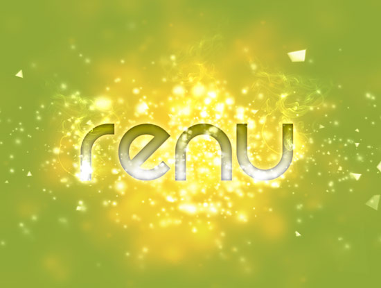 Renu smoke2 Create A Cool Typography Effect in Photoshop