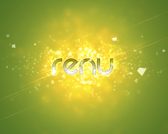 vignette2 renu Create A Cool Typography Effect in Photoshop