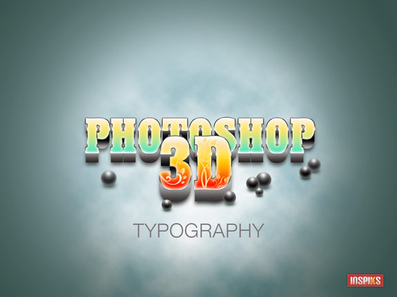 image 1 How to Create A Realistic 3D Typography in Photoshop