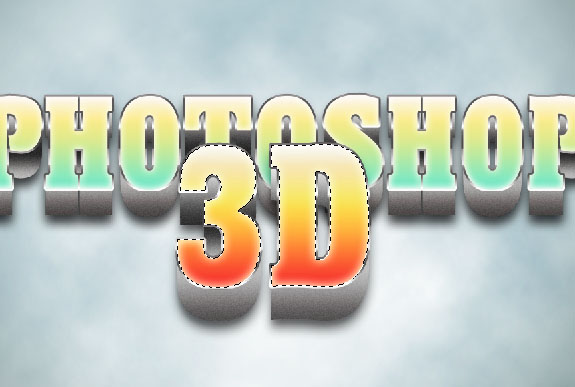 image 18 How to Create A Realistic 3D Typography in Photoshop