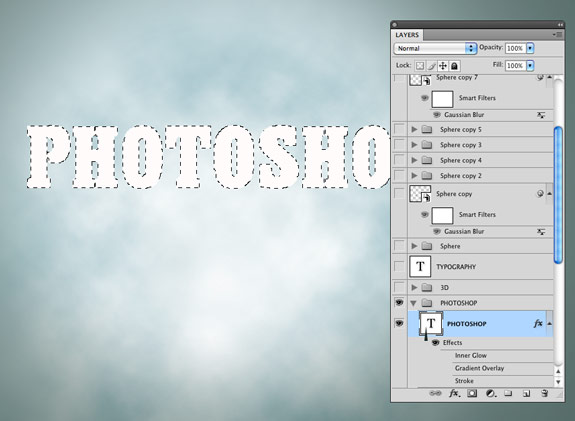 image 9 How to Create A Realistic 3D Typography in Photoshop