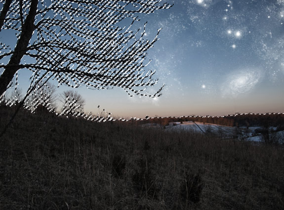 starfield 18 Create A Planetary Star Field in Photoshop