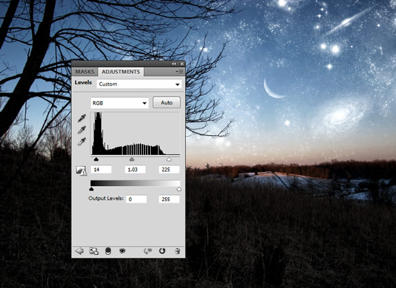 starfield 21 Create A Planetary Star Field in Photoshop