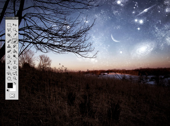 starfield 29 Create A Planetary Star Field in Photoshop