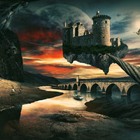 surreal scene1 preview Best Tutorials   May 2011