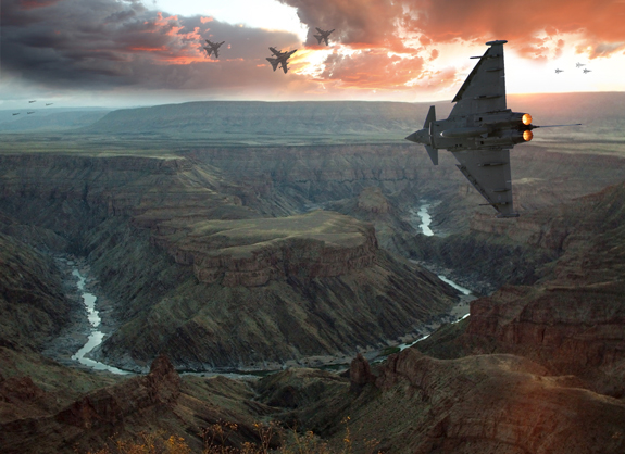 ultimate warfare 21 Create a Cinematic Aerial Scene in Photoshop