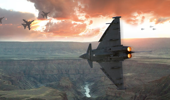 ultimate warfare 23 Create a Cinematic Aerial Scene in Photoshop