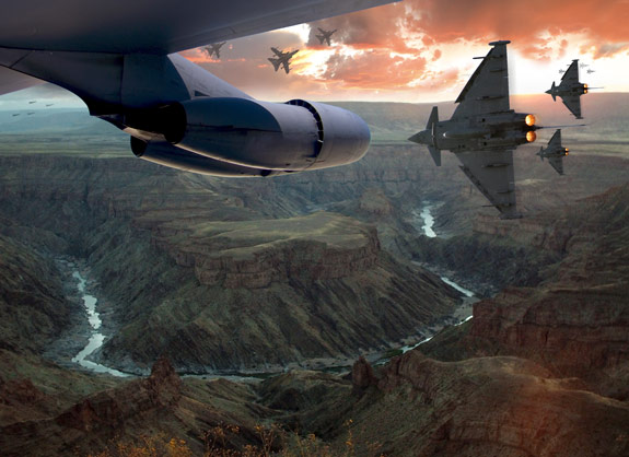 ultimate warfare 27 Create a Cinematic Aerial Scene in Photoshop