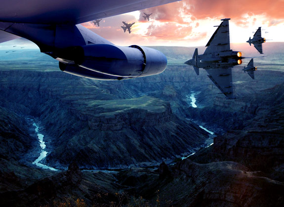 ultimate warfare 33 Create a Cinematic Aerial Scene in Photoshop