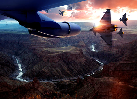 ultimate warfare 40 Create a Cinematic Aerial Scene in Photoshop