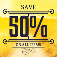 Grand Opening Sale To Celebrate The Of Our New Shop At Inspiks Market You Can Now Enjoy 50 OFF Entire Inventory Until September 30