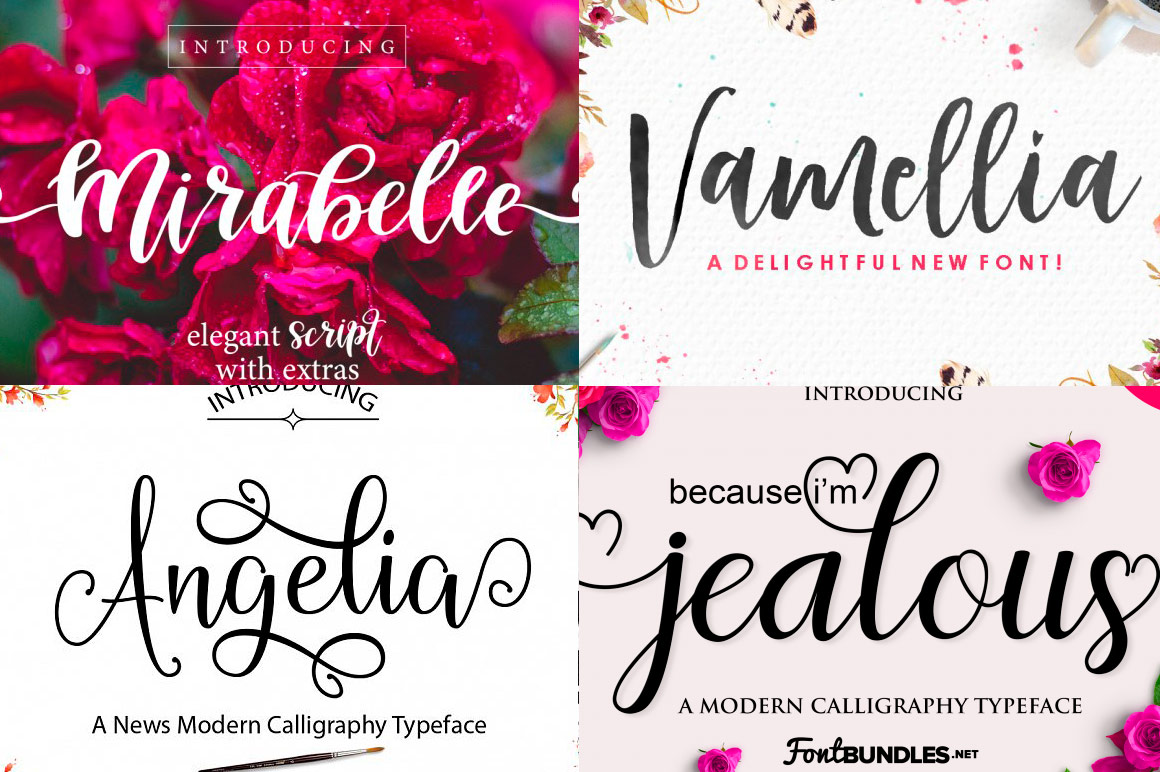15 Brilliant New Script Fonts