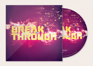 Break Through CD Artwork Template