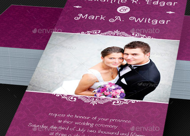 Wedding Invitation Card Template – Marriage Invitation Card Templates