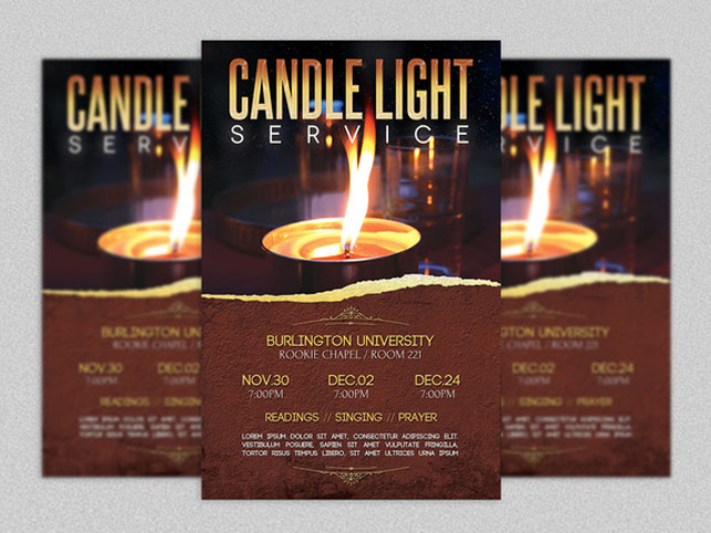 christmas eve candlelight service examples | just b.CAUSE