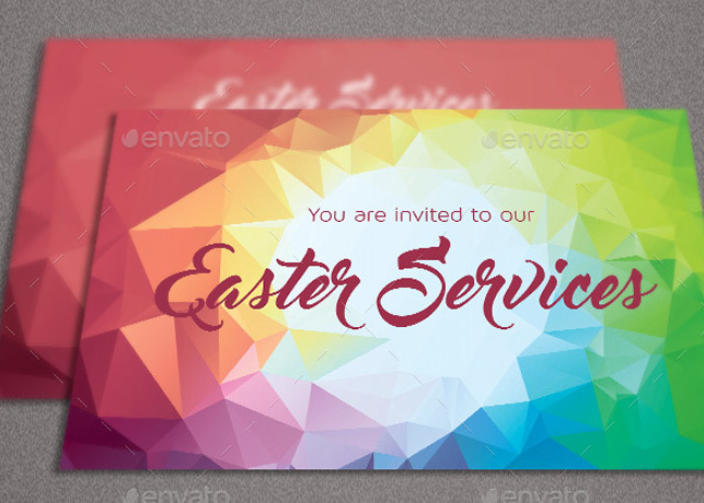 Easter Church Flyer Template  Inspiks Market
