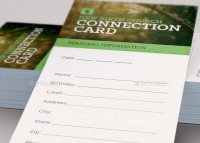 Grow With Us Connection Card Template