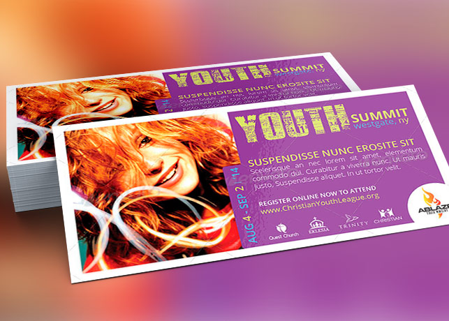 mini youth summit flyer template inspiks market