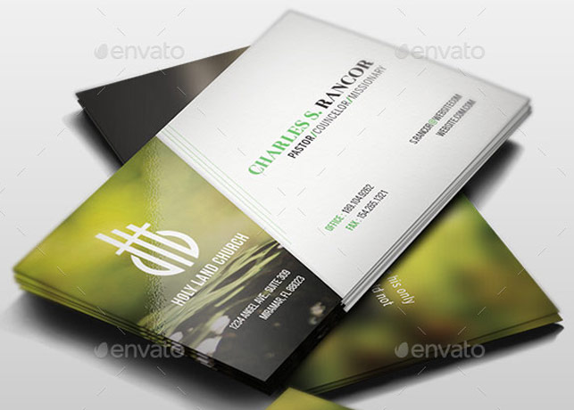 Business cards archives inspiks market church business card template colourmoves