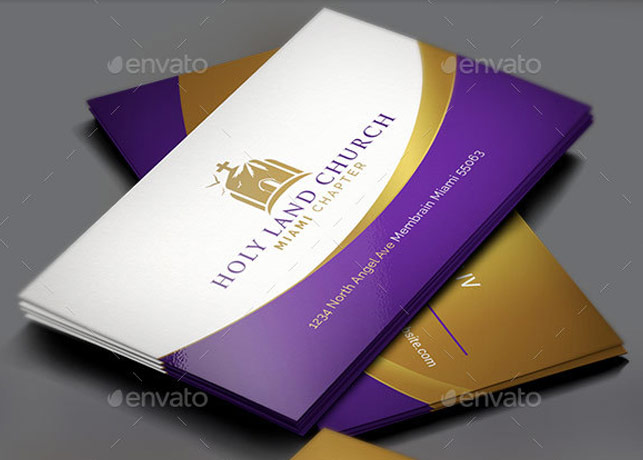 Royal church business card template inspiks market royal church business card template colourmoves