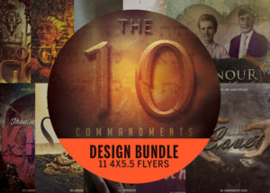 Ten Commandments Flyer Bundle