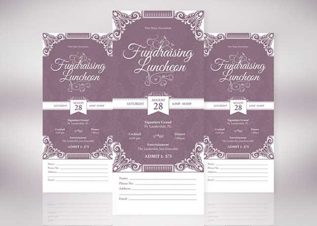 Creative Church Templates – Ticket Template Publisher