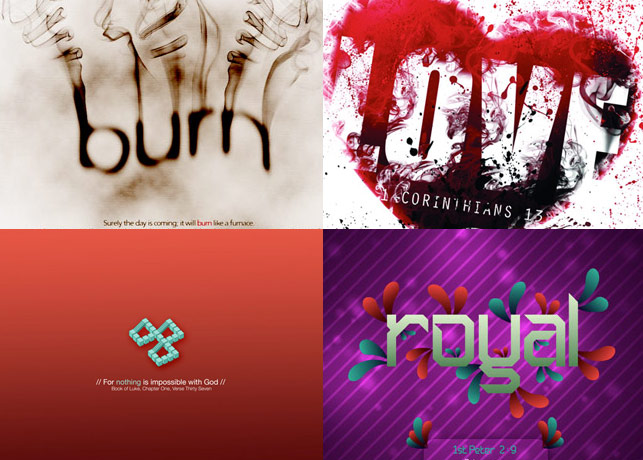 AWESOME ENTRIES FROM THE BEST CHRISTIAN DESIGN WALLPAPER CONTEST