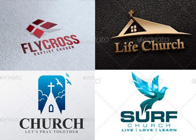 10 Great Church Logo Templates