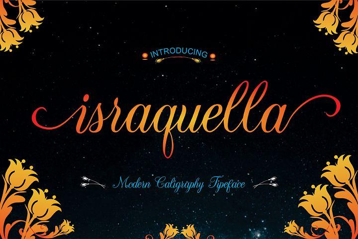 Israquella Script Font