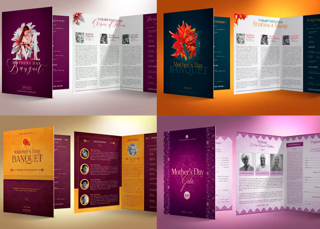 Mothers Day Church Program Template