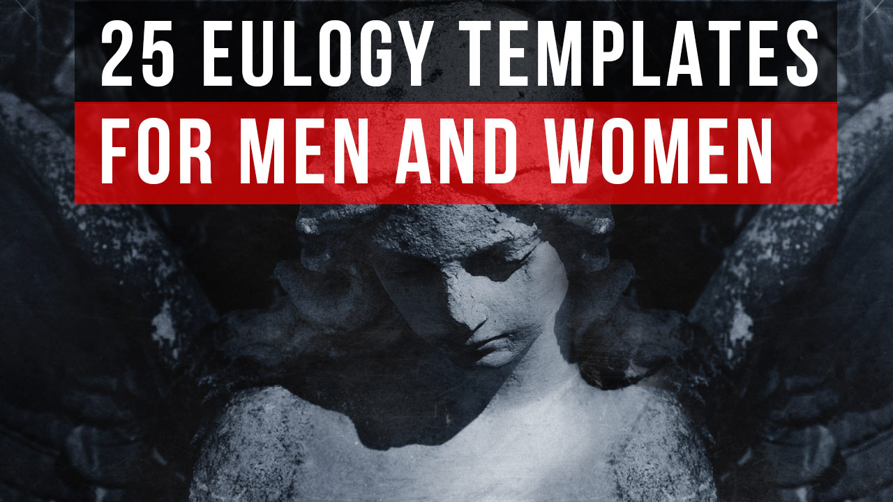 Eulogy Programs for Men and Women