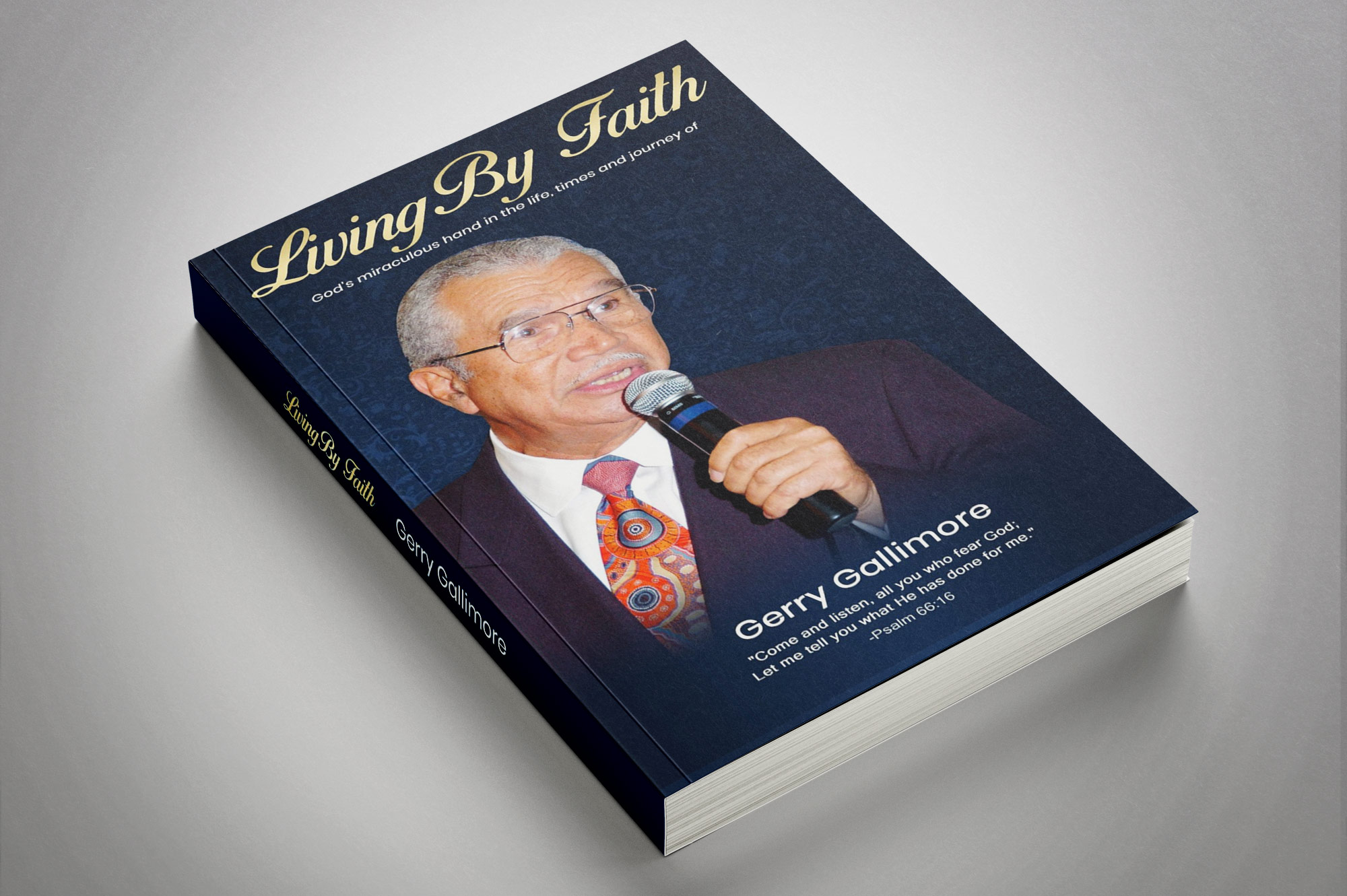Living by Faith book Rev Dr Gerry Gallimore
