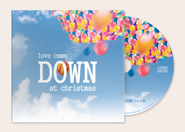 Kids Christmas Pageant CD Artwork Template
