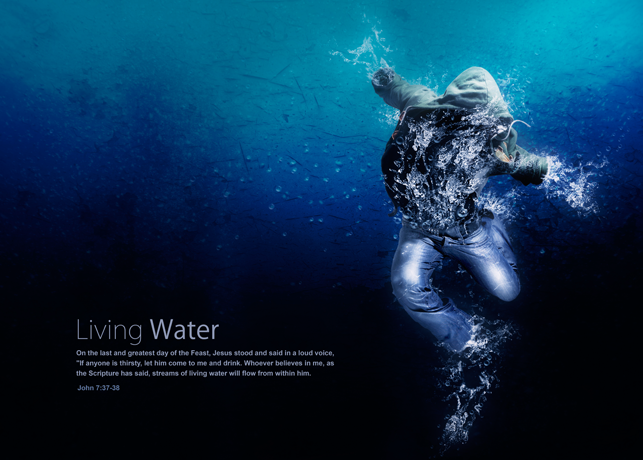 Living Water Poster Print File