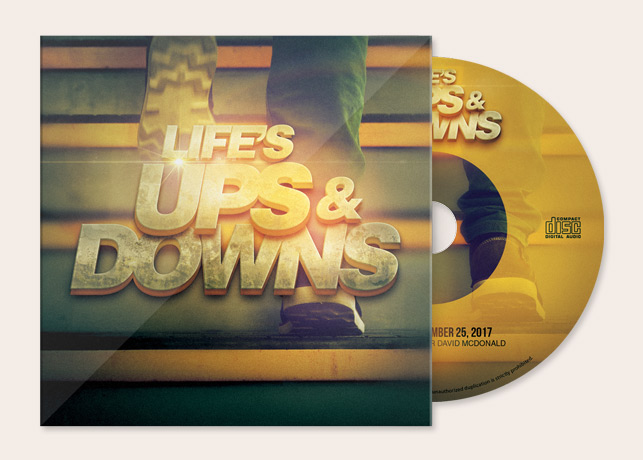 Life's Ups and Downs CD Artwork Template