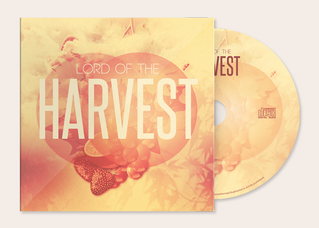 Lord of the Harvest CD Artwork Template