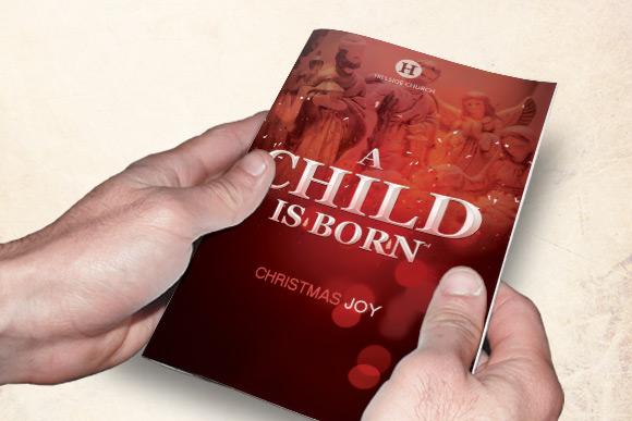 A Child is Born Church Bulletin