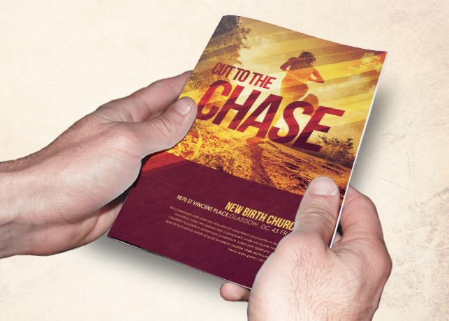 Cut to the Chase Church Bulletin