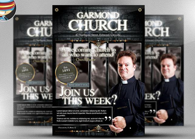https://creativemarket.com/FlyerHeroes/17643-Garmond-Church-Flyer-Template