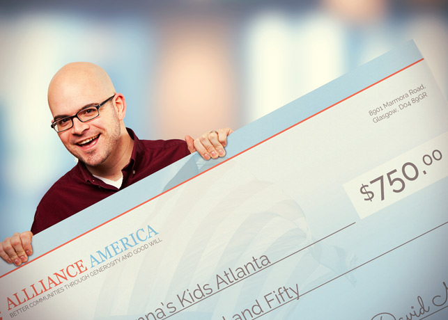 New Approach Big Check Template