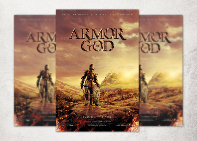 Armor of God Movie Poster Template