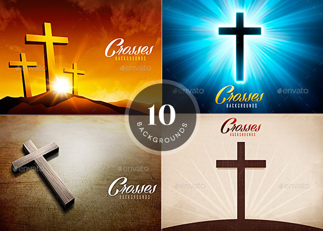 10 Cross Backgrounds