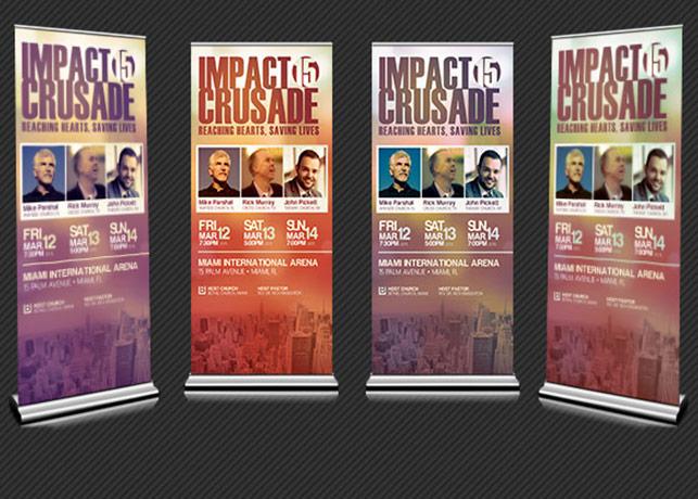 Gospel Crusade Banner and Poster Template