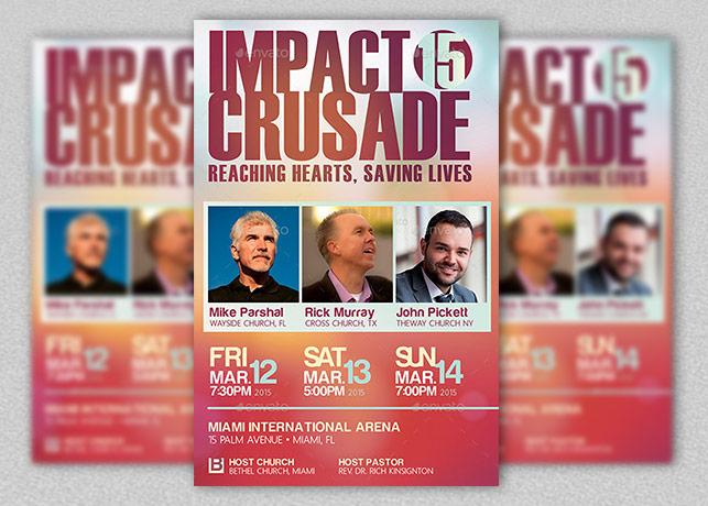 Gospel Crusade Flyer Template
