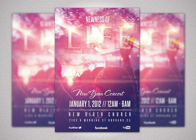Newness of Life Concert Flyer and CD