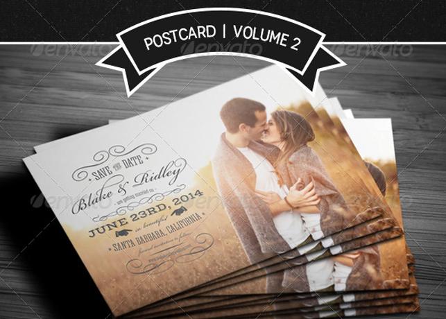 Save The Date Postcard Volume 2