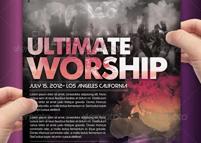 ultimate worship flyer combo