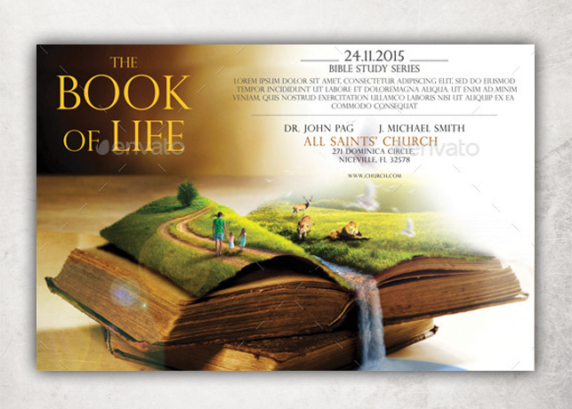 the book of life flyer template