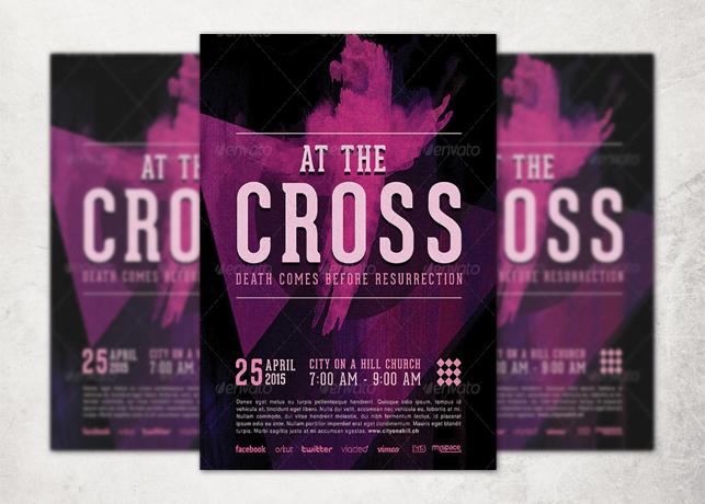 The Cross Church Flyer Template